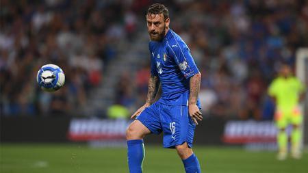Daniele De Rossi beberapa kali gagal menuntaskan peluang. - INDOSPORT