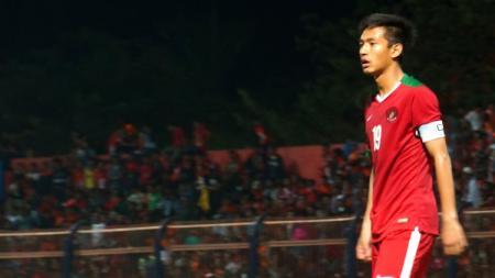 Penyerang Timnas Indonesia, Hanis Saghara Putra. - INDOSPORT