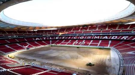 Stadion Wanda Metropolitano. - INDOSPORT