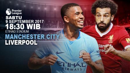 Prediksi Manchester City vs Liverpool. - INDOSPORT