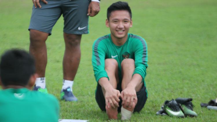 Gelandang Timnas Indonesia U-19, Syahrian Abimanyu Copyright: Istimewa