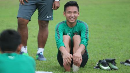 Gelandang andalan Timnas Indonesia U-19, Syahrian Abimanyu. - INDOSPORT