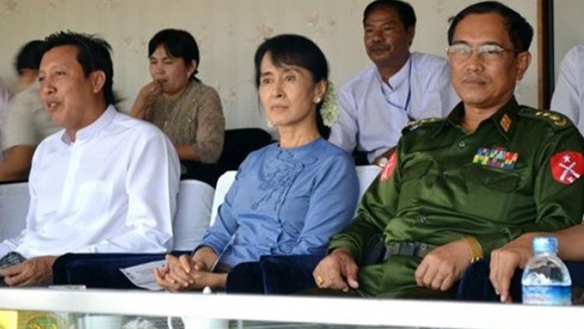 Aung San Suu Kyi Copyright: irrawaddy.com/ap