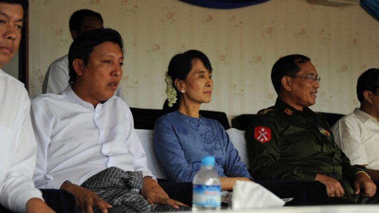 Aung San Suu Kyi Copyright: Indosport.com