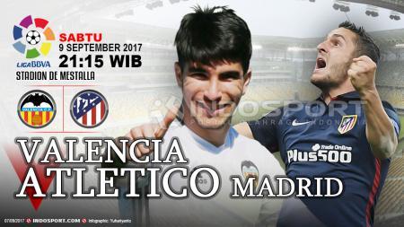 Prediksi Valencia vs Atletico Madrid. - INDOSPORT