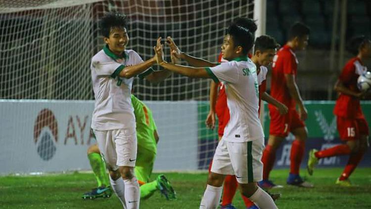 Filipina vs Indonesia Copyright: PSSI