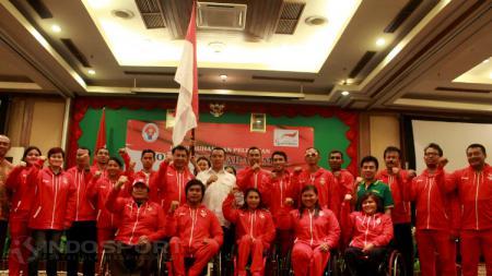 Pelepasan ASEAN Paragames 2017 bersama Menpora Imam Nahrawi. - INDOSPORT