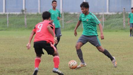 Rafli Mursalim, pencetak gol ke-8 Timnas saat mengalahkan Filipina. - INDOSPORT