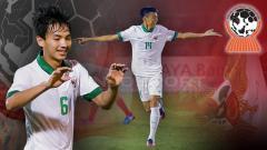 Indosport - Muhammad Iqbal dan Feby Eka Putra di Piala AFF U-18 2017.
