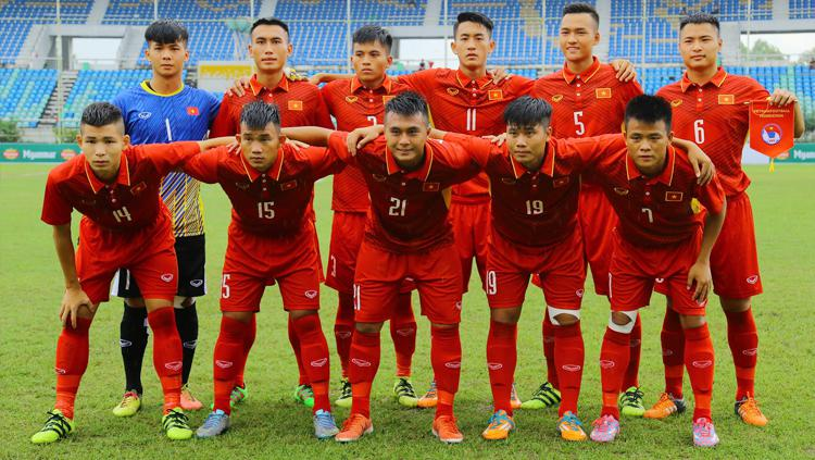 Vietnam U-18. Copyright: Myanmar Football Federation