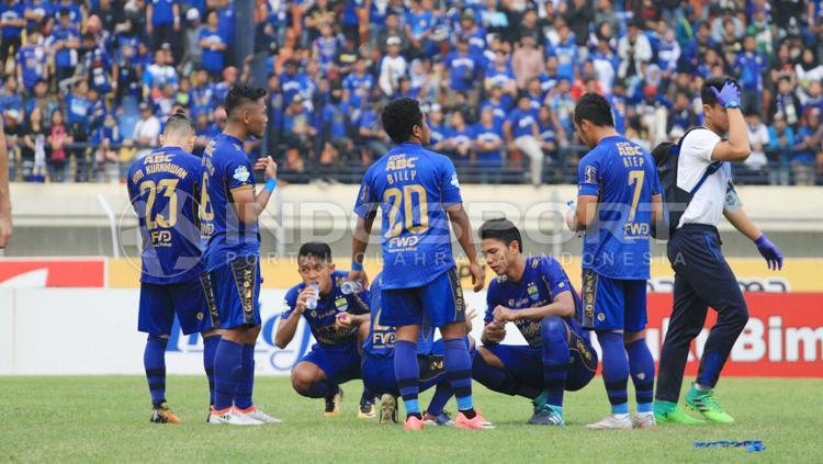 Skuat Persib Bandung. Copyright: Gita Agiet/INDOSPORT