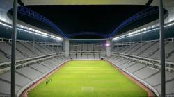 Stadion Batakan, Balikpapan tempat berlangsungnya laga Shopee Liga 1 2019 antara Persebaya vs PSM Makassar pada Kamis (14/11/2019) sore.