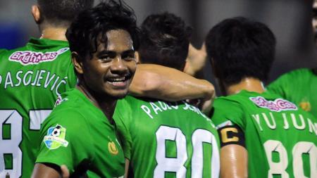 Ilham Udin Armaiyn bawa Bhayangkara melesat ke puncak klasemen Liga 1. - INDOSPORT