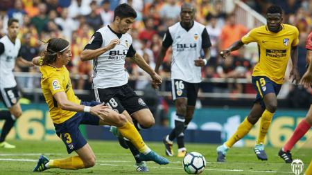 Valencia vs Atletico Madrid. - INDOSPORT