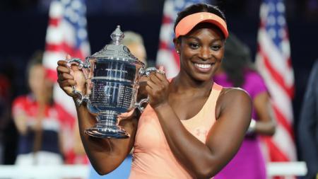 Sloane Stephens memenangkan gelar Grand Slam perdananya. - INDOSPORT