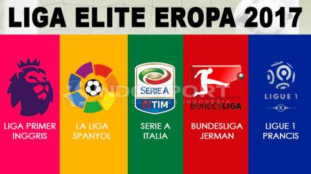 Logo Liga Elite Eropa. - INDOSPORT