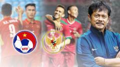 Indosport - Indra Sjafri pemain Indonesia dan Vietnam.