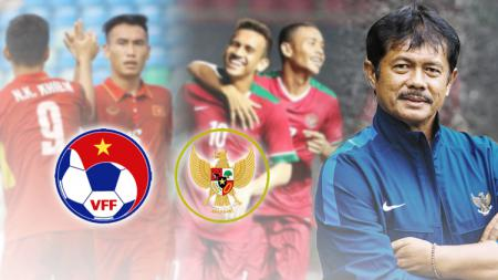 Indra Sjafri pemain Indonesia dan Vietnam. - INDOSPORT
