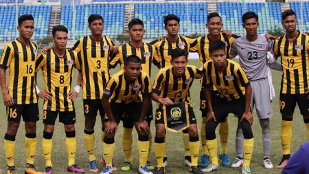 Skuat Timnas Malaysia U-19. - INDOSPORT