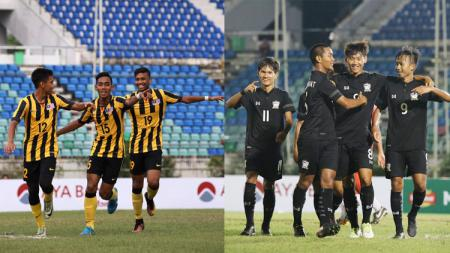Malaysia dan Thailand. - INDOSPORT