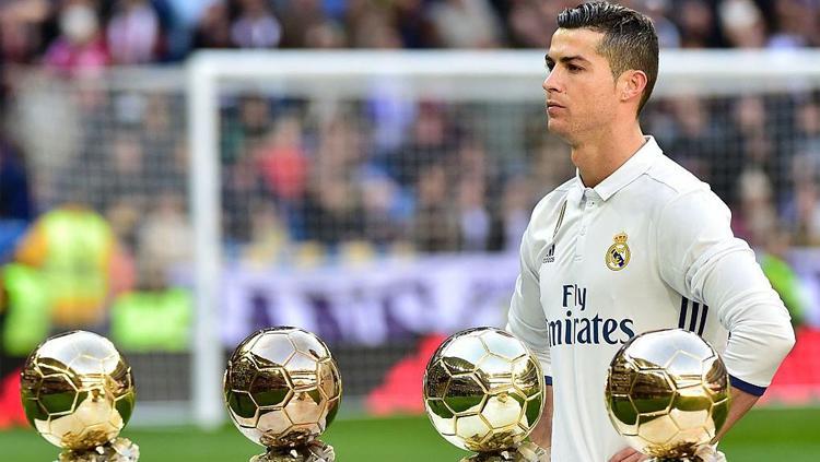 Megabintang Real Madrid, Cristiano Ronaldo. Copyright: Getty Images