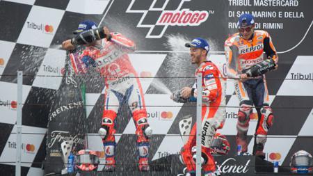 Danilo Petrucci menyamakan Marc Marquez dengan Kenny Roberts yang dianggap telah merevolusi dunia MotoGP - INDOSPORT