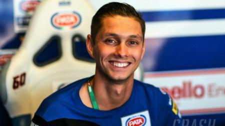 Michael van der Mark menggantikan Valentino Rossi. - INDOSPORT