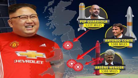 Presiden Korea Utara penggemar Manchester United - INDOSPORT