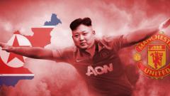 Indosport - Kim Jong-un ternyata dukung dua tim raksasa Eropa sekaligus.