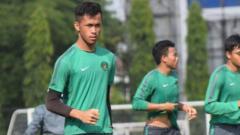 Indosport - Aqil Savik kiper Timnas Indonesia U-19.