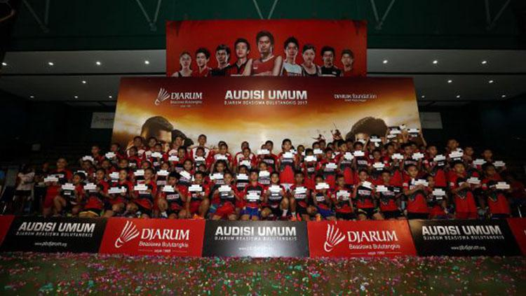Audisi PB Djarum Copyright: Dok PB Djarum