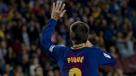 Gerard Pique, pemain bertahan Barcelona. - INDOSPORT