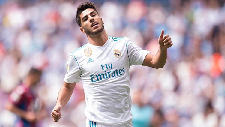 Marco Asensio, pemain muda berbakat milik Real Madrid. Copyright: INDOSPORT