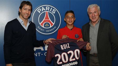 Kays Ruiz, pemain berusia 15 tahun yang dikontrak PSG. - INDOSPORT