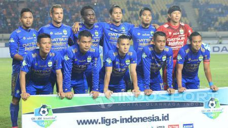 Persib Bandung memilih fokus mempersiapkan diri menghadapi Bali United pada laga kandang Gojek Traveloka Liga 1 di Stadion Si Jalak Harupat, Kabupaten Bandung, Kamis (21/9/2017). - INDOSPORT