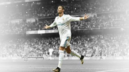 Striker Real Madrid, Cristiano Ronaldo. - INDOSPORT