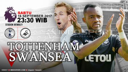 Prediksi Tottenham vs Swansea City. - INDOSPORT