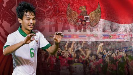 Gelandang Timnas U-19, Muhammad Iqbal. - INDOSPORT