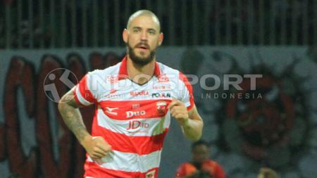 Dane Milovanovic, pemain Madura United. - INDOSPORT