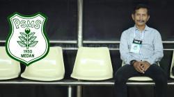Djajang Nurdjaman, pelatih PSMS Medan.
