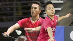 Indosport - Pebulutangkis Jonatan Christie membuat pembelaan berkelas setelah mengetahui rekannya, yakni Anthony Sinisuka Ginting 'dicurangi' wasit di final Hong Kong Open 2019.