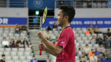 Anthony Sinisuka Ginting memastikan tiket final Korea Open 2017. - INDOSPORT