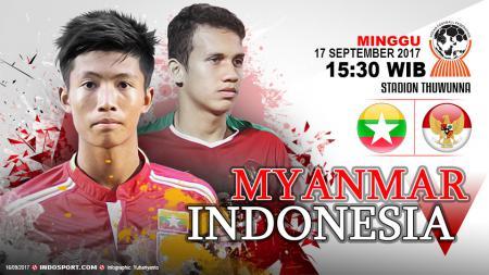 Prediksi Myanmar vs Indonesia. - INDOSPORT
