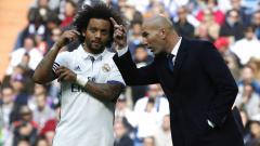 Indosport - Zinedine Zidane dan Marcelo sudah saling mengerti kemauan masing-masing.