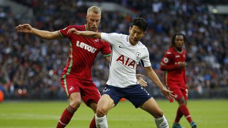 Hasil imbang 0-0 menutup laga antara Tottenham Hotspur vs Swansea City. - INDOSPORT