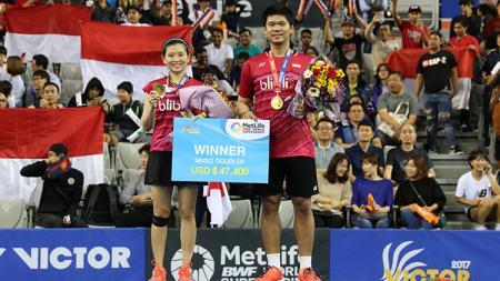 Praveen Jordan/Debby Susanto sukses raih gelar juara Korea Open 2017. - INDOSPORT