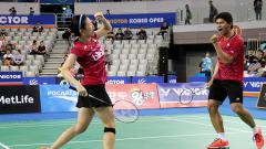 Indosport - Praveen Jordan/Debby Susanto.
