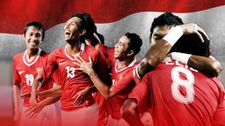 Kemenangan Timnas Indonesia. - INDOSPORT