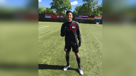 Sutan Zico, penggawa Timnas Indonesia U-16. - INDOSPORT