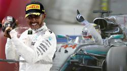 Lewis Hamilton berhasil finish diurutan pertama di GP Singapura.